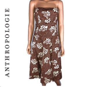 ANTHROPOLOGIE TABITHA STRAPLESS DRESS SIZE 6